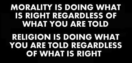 morality vs religion