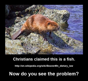 Problems not only geology but animals.  Happy Lent!