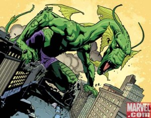 Giant monster with pants - Marvel