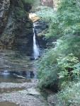 falls about 30 feet high