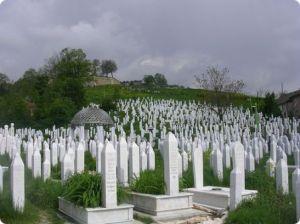 Muslim cemetery.  Nope no crosses here.