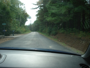 rural roads to wineries