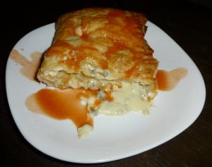 cheese tart slice