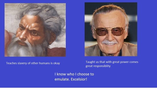 God and Stan Lee