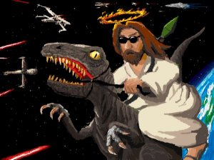 jesus-with-a-dinosaur-1