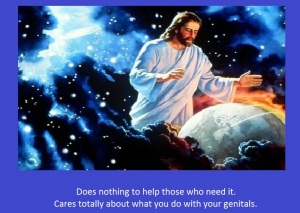 jesus genitals