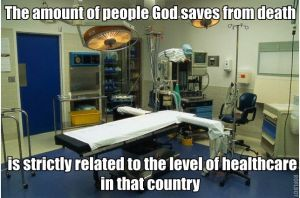 god and modern medicine
