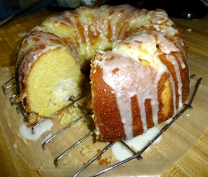 lemon coconut bundt cake