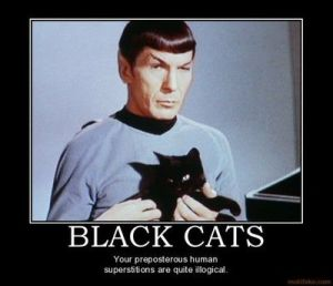 no idea who did this nice poster.  The cat isn't exactly a cat (episode - Assignment: Earth)