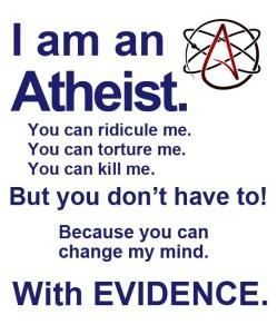 atheist evidence