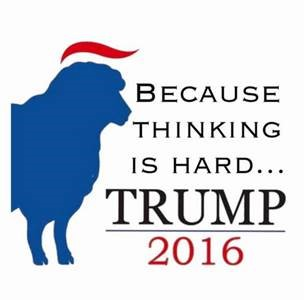 trump sheep