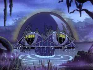 the HQ for the Legion of Doom, from the cartoon Superfriends