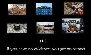 no-evidence-no-respect