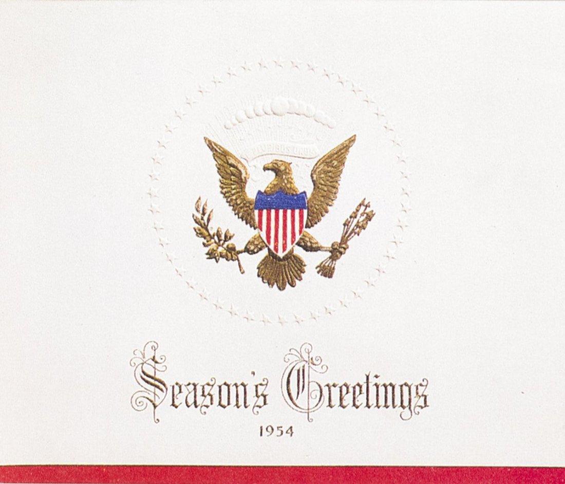 Eisenhower xmas card
